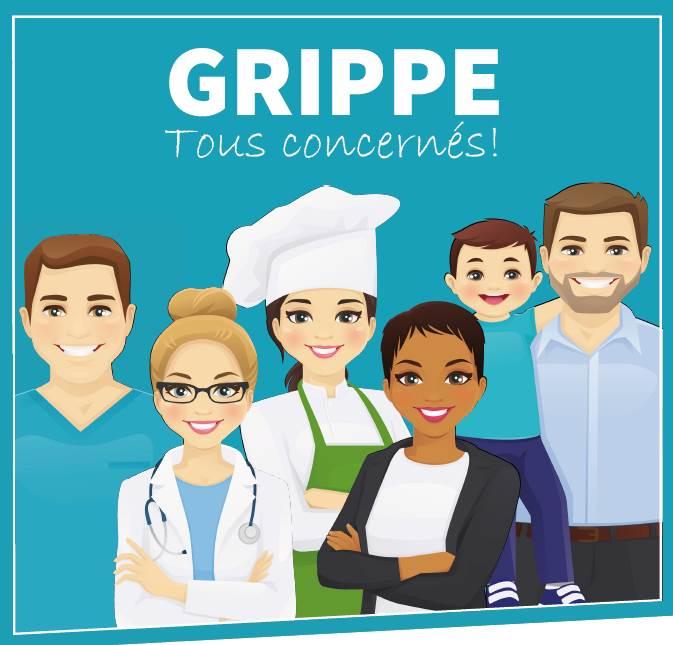 Se vacciner contre la GRIPPE c'est encore possible.
