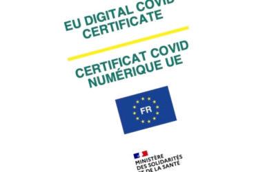 Récupérer son certificat de vaccination COVID Européen